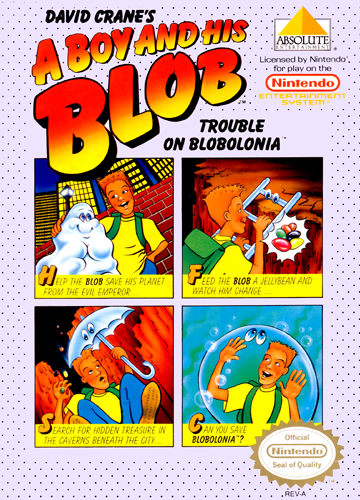 Boy and His Blob, A - Trouble on Blobolonia (USA)